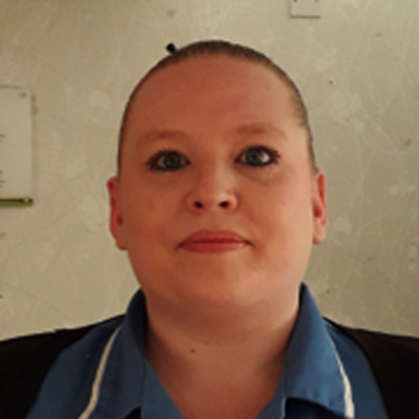 Claire Brayshaw team leader at chestnut view care home haslemere