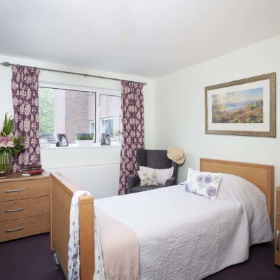 Bedroom at Chestnut View Care Home Haselmere