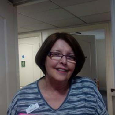 Veronica Scates residential manager at chestnut view care home haslemere